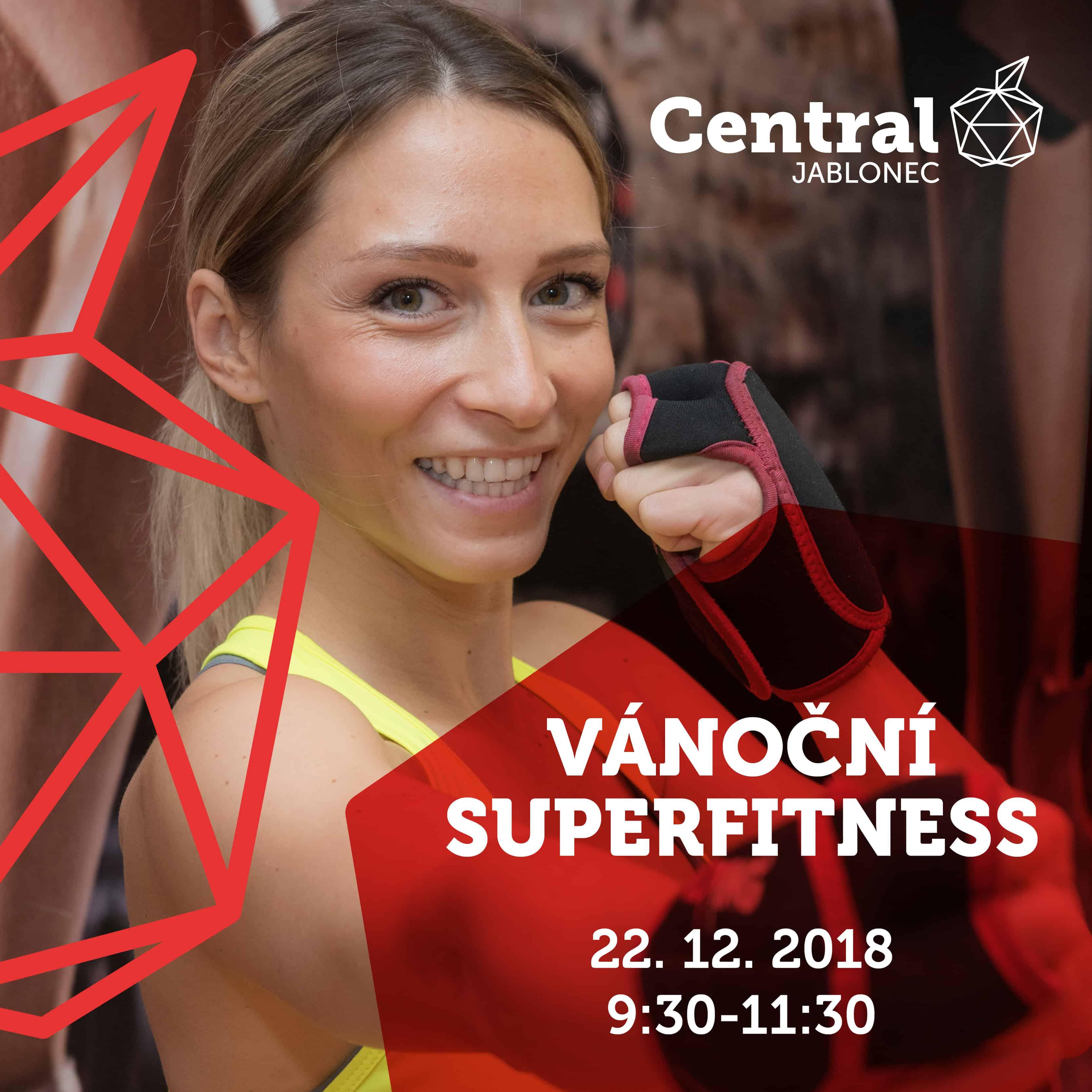 b43fee4ad0 VÁNOČNÍ SUPERFITNESS. Přijďte si dát do těla na VÁNOČNÍ SUPERFITNESS v Central  Jablonec!