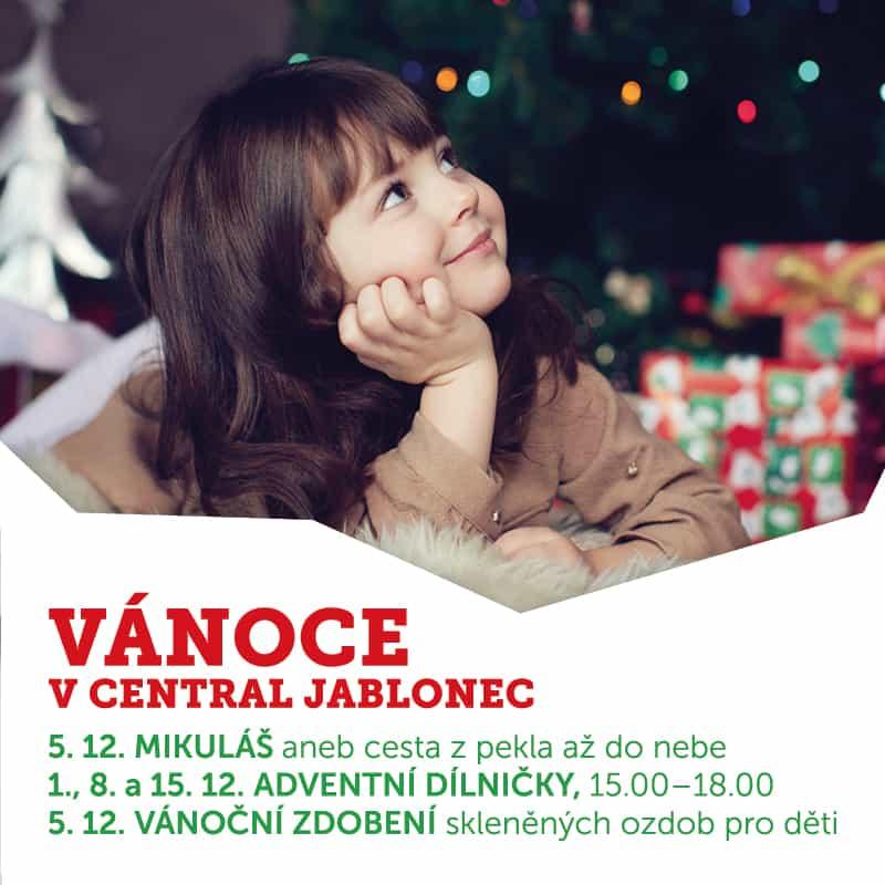 0d82443710 CENTRAL JABLONEC VÁNOCE V CENTRAL JABLONEC - Central Jablonec
